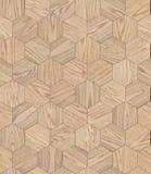 Natuurlijke houten honingraat als achtergrond, grunge het ontwerp naadloze textuur van de parketbevloering Stock Foto's