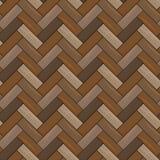 Natuurlijke houten parkettextuur Naadloos Patroon EPS10 vector illustratie