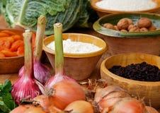 Natuurlijke Ingrediënten Stock Afbeeldingen