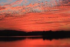 Natuurlijke kleur in hemel Stock Foto