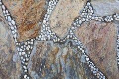 Natuurlijke kleurrijke steen Kan als achtergrond worden gebruikt Royalty-vrije Stock Foto