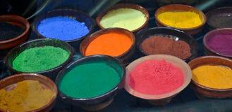 Natuurlijke kleurstof Stock Foto