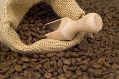 Natuurlijke koffie Royalty-vrije Stock Foto's