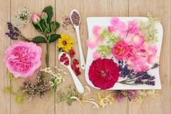 Natuurlijke Kruidenremedie stock foto