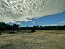 natuurlijke landschapswolken Royalty-vrije Stock Foto's