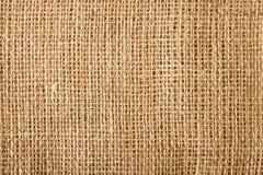 Natuurlijke linnen textieltextuur Royalty-vrije Stock Foto