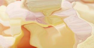Natuurlijke Luxe Marbleizedeffect Oude oosterse tekeningstechniek Marmeren textuur Mooi patroon Oosters art Marmering B vector illustratie