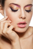 Natuurlijke make-up Stock Foto