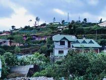 Natuurlijke mening in Nuwara Eliya, Sri Lanka Royalty-vrije Stock Fotografie