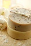 Natuurlijke met de hand gemaakte zeep Stock Foto's