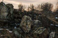 Natuurlijke muren Stock Foto's