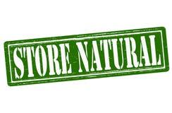Natuurlijke opslag stock illustratie