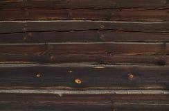 Natuurlijke oude houten muur Stock Foto