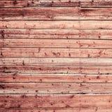 Natuurlijke oude vuile houten muurachtergrond met horizontale planken Stock Afbeeldingen