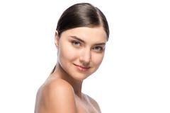 Natuurlijke perfectie - mooie jonge vrouw, Royalty-vrije Stock Foto's