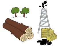 Natuurlijke rijkdommen Royalty-vrije Illustratie
