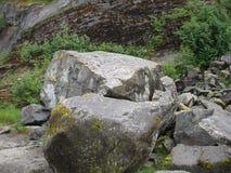 Natuurlijke rotsvormingen Stock Foto's