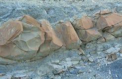 Natuurlijke ruwe steen Stock Foto's