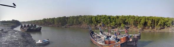 Natuurlijke schoonheid van Bangladesh Royalty-vrije Stock Fotografie