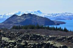 Natuurlijke schoonheid van IJsland Stock Foto