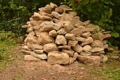 Natuurlijke steen Stock Foto