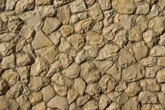 Natuurlijke steenmuur Stock Afbeeldingen