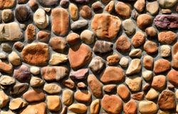 Natuurlijke steenmuur Stock Foto's