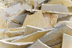 Natuurlijke steenplakken Stock Afbeeldingen