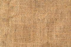 Natuurlijke textieljuteachtergrond Royalty-vrije Stock Fotografie