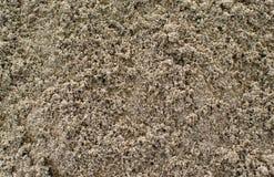 Natuurlijke textuur van het zand royalty-vrije stock afbeeldingen