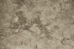 Natuurlijke textuur van wit bruin grijs marmeren vlot niveau met gekraste achtergrond Stock Fotografie