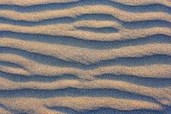 Natuurlijke textuur. Zandige golven. Variant twee. Stock Foto
