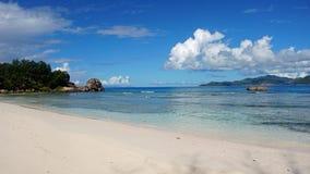 Natuurlijke tropische baai Stock Foto