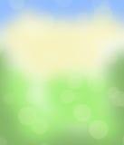 Natuurlijke vage kleurrijke samenvatting als achtergrond stock fotografie