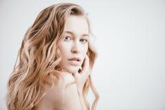 Natuurlijke Vrouwelijke Schoonheid royalty-vrije stock foto