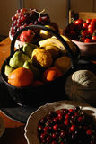 Natuurlijke vruchten Stock Foto's