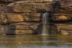 Natuurlijke waterkant in Thailand Royalty-vrije Stock Fotografie