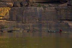 Natuurlijke waterkant in Thailand Stock Foto's