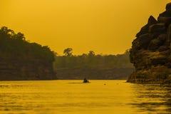 Natuurlijke waterkant in Thailand Royalty-vrije Stock Afbeeldingen