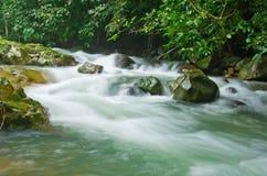 Natuurlijke waterstroom Stock Foto's