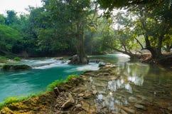 Natuurlijke waterstroom Royalty-vrije Stock Afbeeldingen