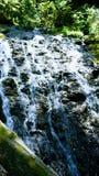 Natuurlijke watervallen gevonden onderzoekend de schoonheid Van Alaska royalty-vrije stock fotografie