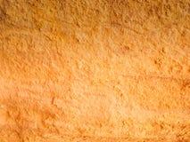 Natuurlijke zandsteentextuur, gele warme kleur Stock Afbeelding