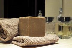 Natuurlijke zeep Royalty-vrije Stock Afbeeldingen