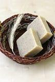 natuurlijke zeep met kruiden Royalty-vrije Stock Afbeeldingen
