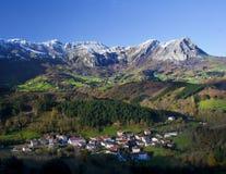 Natuurreservaat van Sierra DE Aralar, Navarre Royalty-vrije Stock Foto