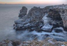 Natuursteenboog Stock Foto's