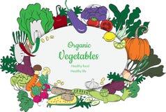 Natuurvoedingachtergrond en Exemplaarruimte vector illustratie