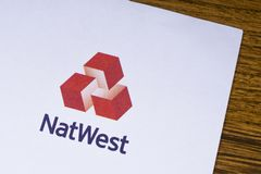 natwest banka logo Fotografia Stock