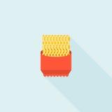 Natychmiastowego kluski icon= royalty ilustracja